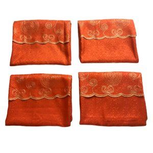 Set of Four Embroidery Curtains